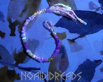 Set of 2 wraps 3 /'/'Karkki/'/' ~ Dread accessories ~ Dread and hair wraps ~ by NoaidiDreads
