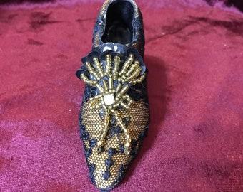 Sophisticated Lady Decorative Shoe
