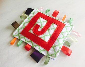 Custom Crinkle Tag Toy