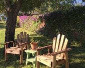 Wood Outdoor Garden Chair