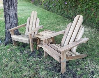 Wood Outdoor Garden Adarondack Chair