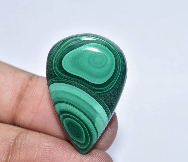Green Malachite Loose For Jewelry semi precious Hand Polished Malachite Gemstone Fine Designer Natural Malachite Malachite Cabochon