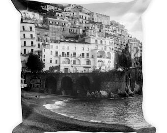 Plage de l'île de Capri coussin / garniture, édition limitée au 1/100