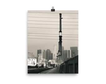 Into the City Print