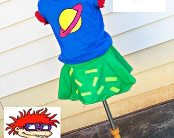 chuckie finster rugrats halloween costume birthday nickelodeon 90s