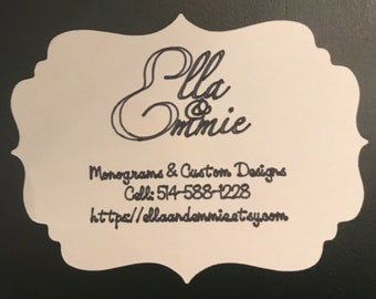 Business cards etsy business card reheart Gallery