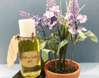 Hair & Scalp Oil Scented w/ Lavender