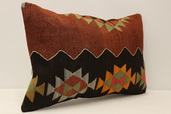 40x60 cm Lumbar Pillow Turkish Pillow Kilim Cushion Art Deco Pillow Cover Sofa pillow 4kaf-566 Throw Pillow 16x24 inches