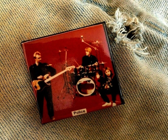 1985 STING The Police 1.5 pin button pinback B213