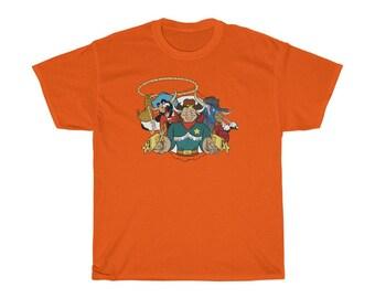 Cowboys Of Moo Mesa T-Shirt Tee Shirt Harbro R.E. Bee Inc Wild West C.O.W.-Boys