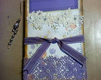 Purple Vintage Style Journal absolutely adorable