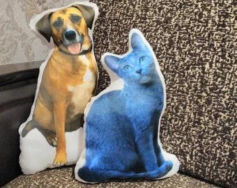 Custom pet pillow, custom dog pillow, personalized dog pillow