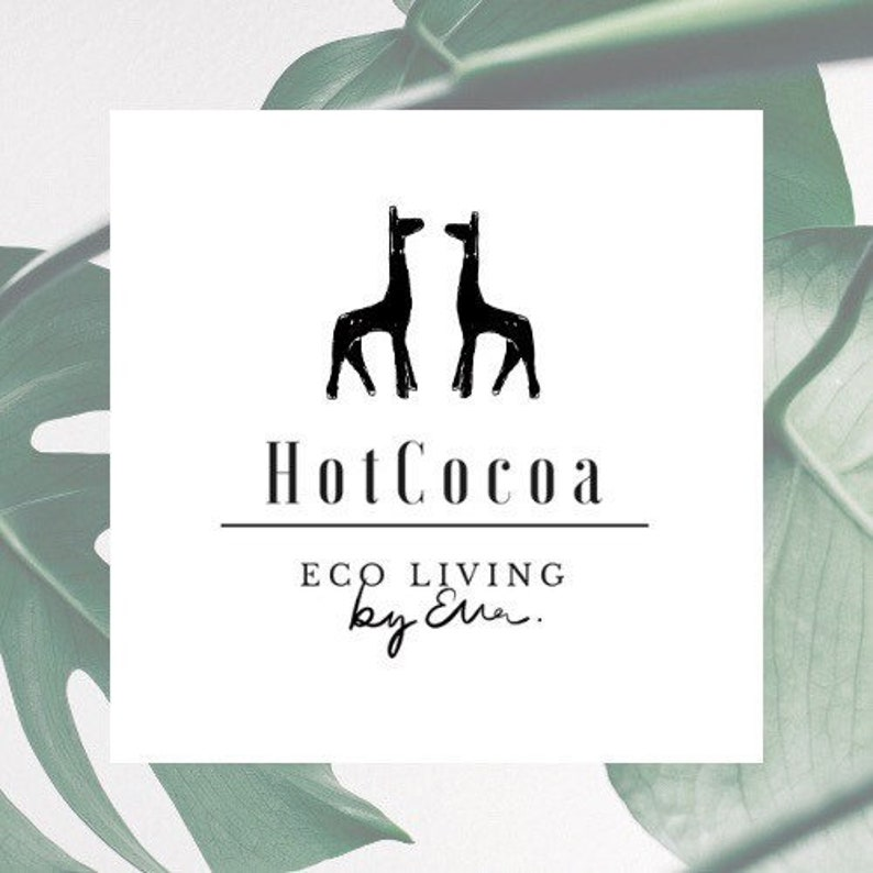 Customisable Keyring Natural Eco Gift