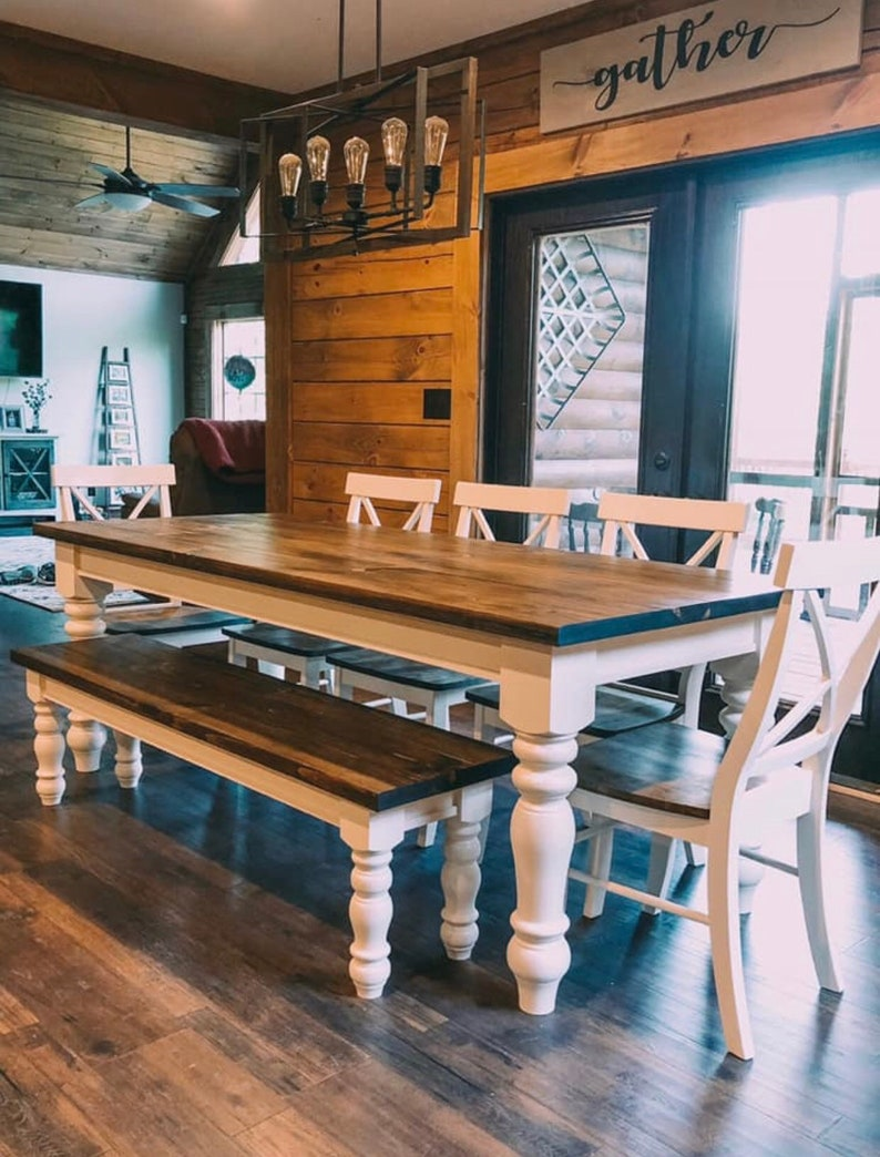 Made in NC Knotty Pine Chunky Bench Legs 3.5 x 3.5 x 16 Set of 4 Coffee Table Legs