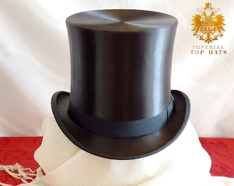 Quality mens ladies dressage top hat 100/% wool riding equestrian junior top hat
