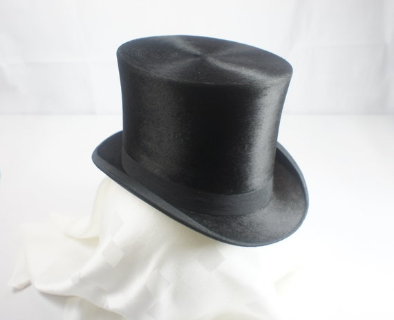 Ultra-Tall Silk Top Hat Size 6 7 8 56  b60b4f286936