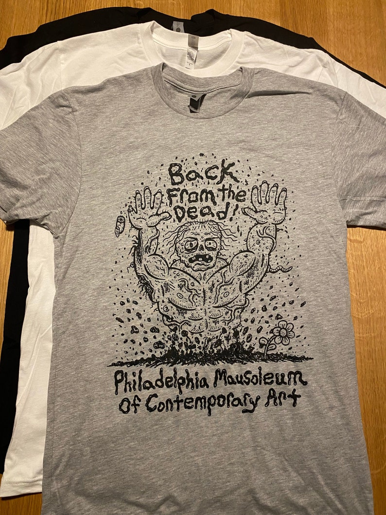 PhilaMOCA Back From The Dead T-shirt image 0