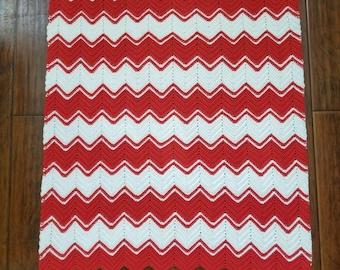 Chevron Stripes Baby Blanket