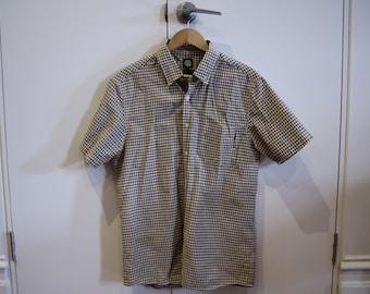 Sz M Element Checkered Shirt