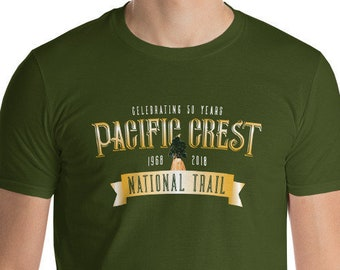 Pacific Crest National Trail Celebrating 50 Years Short-Sleeve T-Shirt