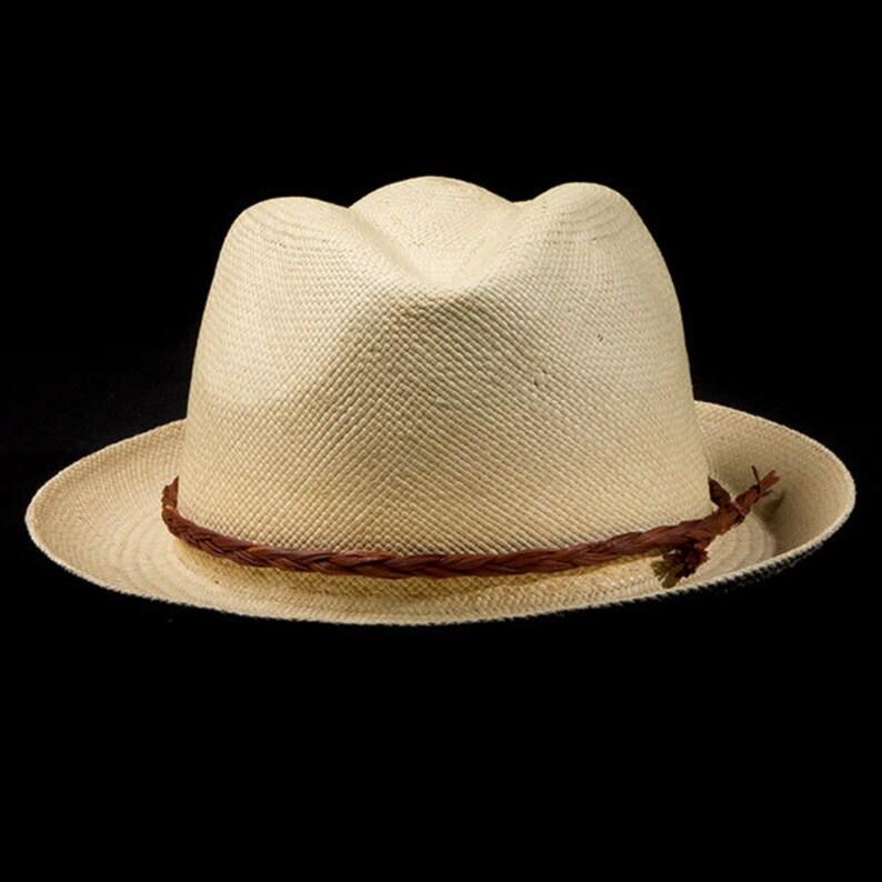 Genuine Panama Hat 1 Gift Cap or Handbag Toquilla Palm  26de0f27345a