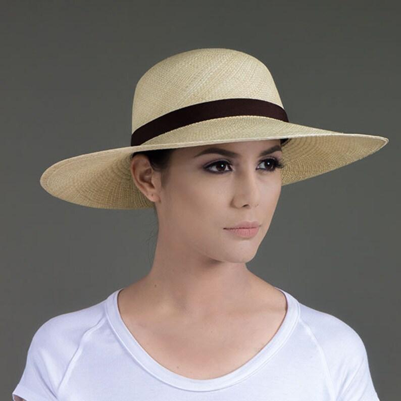 Cappello Panama 1 regalo Cap o borsa Tesa larga Palm  7b62843427d5