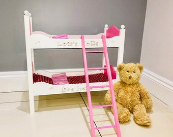 Doll Bunk Bed Etsy