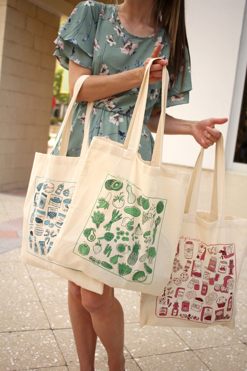 Grocery Tote Bags ALL 3!