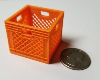 RC 1//10 Scale Red Milk Crate Rock Crawler Truck Garage Accessories Miniatures