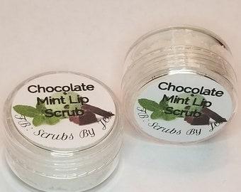 Chocolate mint Sugar lip scrub