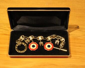 Celine Paris Vintage Charm Bracelet.