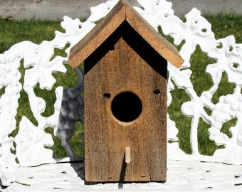 Aged Cedar Bird House
