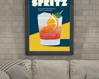 Aperol spritz vintage posters canvas printing wall decor print home decor printable prints art print photo magnets
