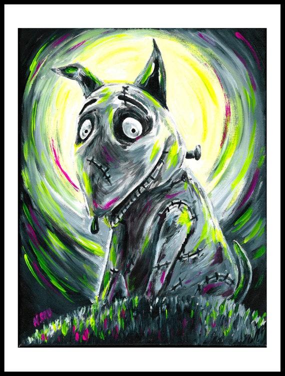 Tim Burtons Frankenweenie Art Print Etsy