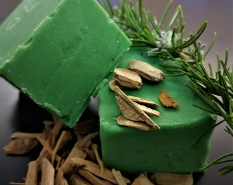 5oz Douglas Fir and Rosemary All-Natural Soap Bar