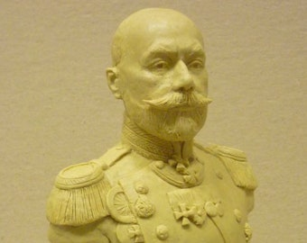 Portrait statue, sculpture, bust of famous people