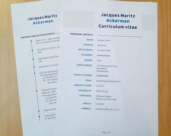 Personal Resume designing