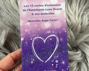 Set of 12 Expansion Cards + 1 Bonus Card (limited edition) for Amethyst - Delivered in pouch in Rabat - Extension from 53 to 65