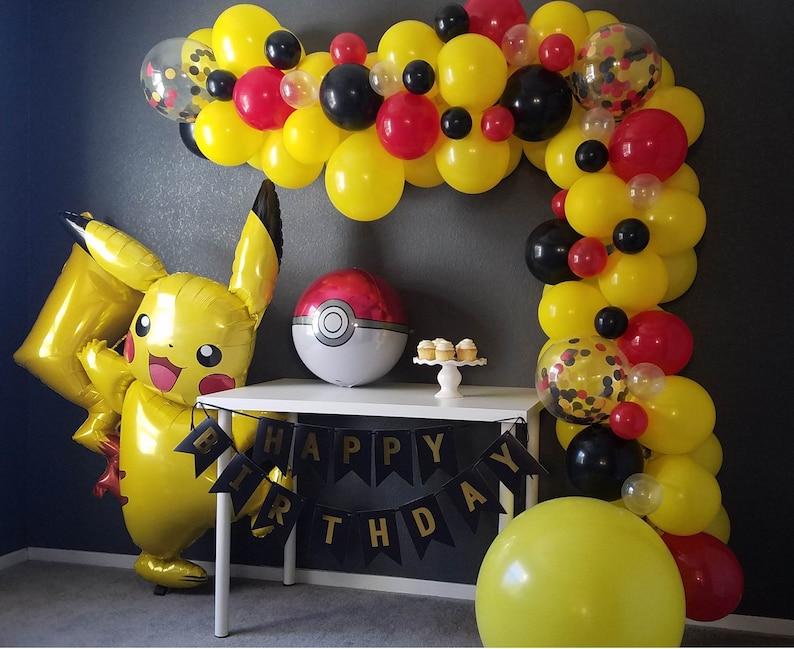 943a3d8109dc06 Pikachu I Choose You Pokemon Balloon Garland Kit | Etsy