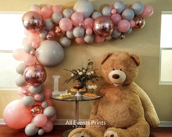 Premium Create Your Own Balloon Garland DIY Kit, CHOOSE Your Own Colors, Includes Wall Hooks, Twine, Glue, Optional Pumps