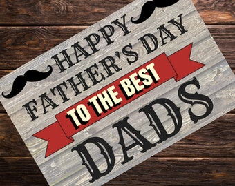 329d40e1a1b Gay Father s Day Card for Two Dads