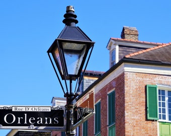 New Orleans, French Quarter Street Sign Photo