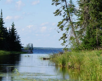 A veiw to the lake Photo