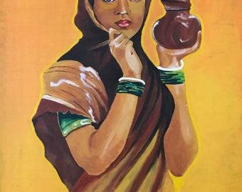 hand made indian art