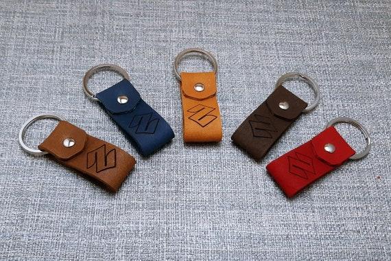 Suzuki leather Motocicleta Keyring llavero Schl-sselanh-nger porte-clés portachiavi Regalo, llavero,porta-chaves