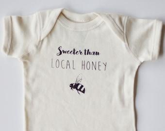 Sweeter Than Local Honey Onesie