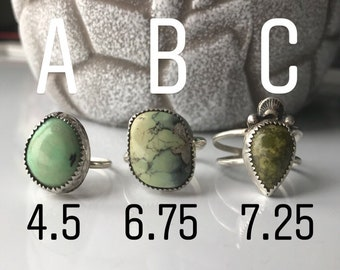 50% off The very first set of rings I made, choose your favorite! No code needed.