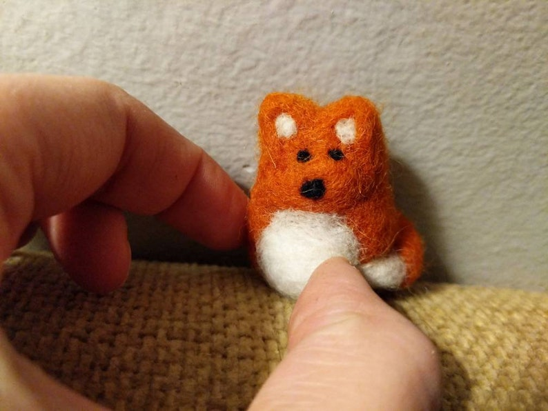 Needle Felted Foxtato gifts of encouragement you can do the image 0