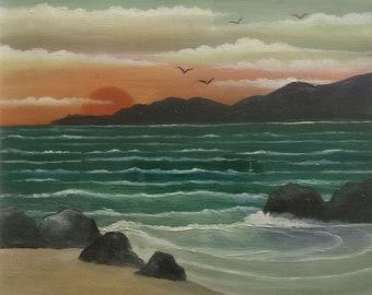 Original painting of an Irish landscape by an Irish artist