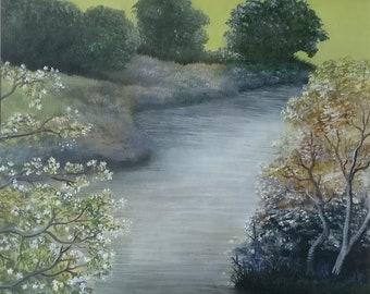 Original painting of an Irish landscape